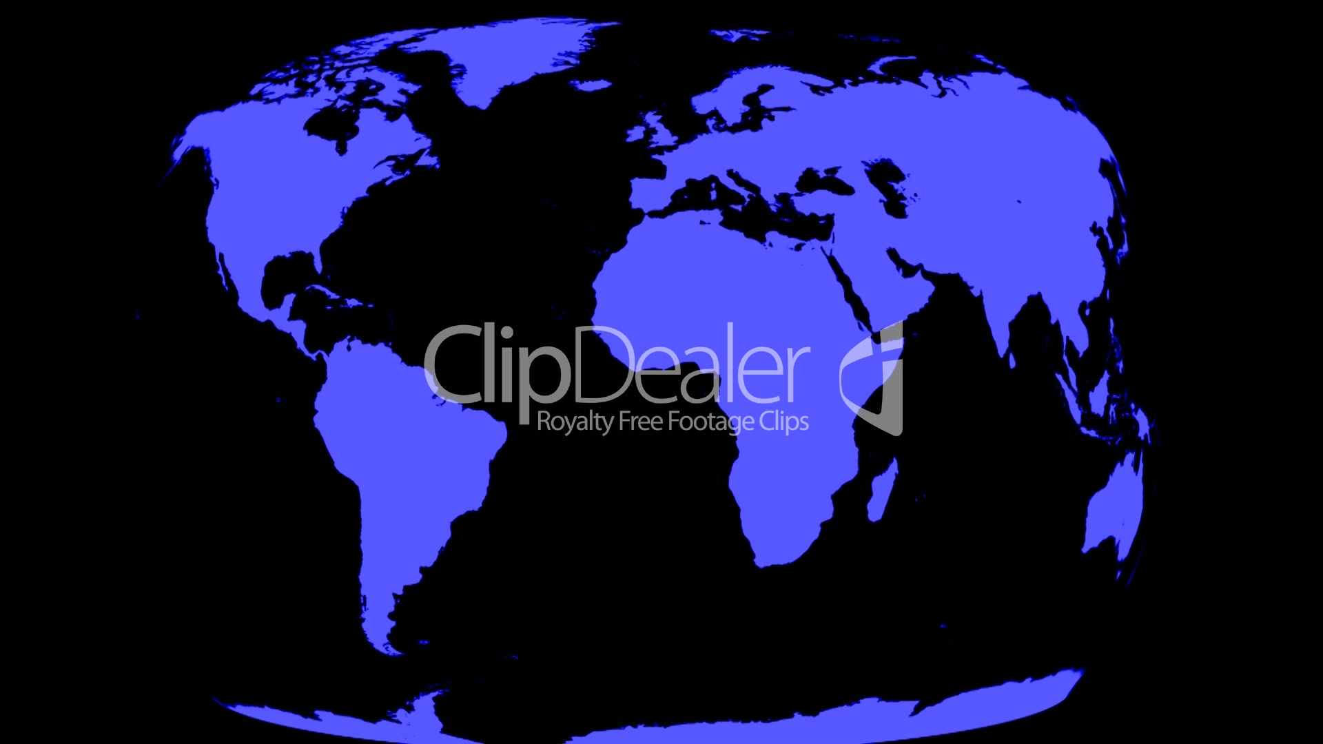 World map wraps to spinning globe black royalty free video and world gumiabroncs Gallery