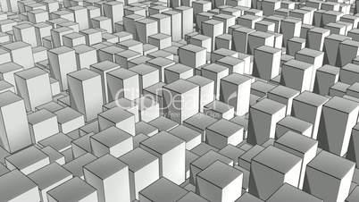 cube pan ink