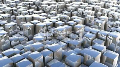 cube pan reflection