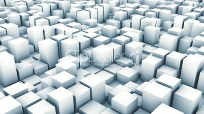 cube pan white
