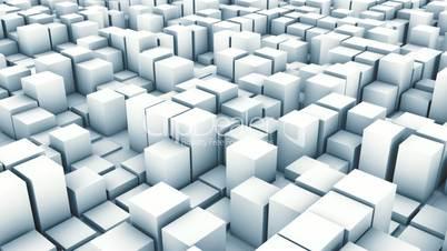 cube track white