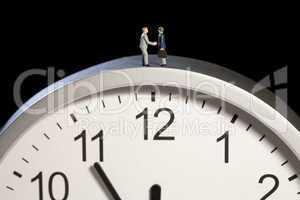 Geschäftsabschluss unter Zeitdruck