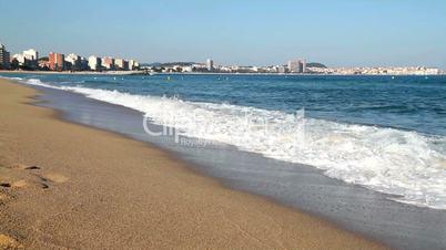 Beautiful spanish coastal