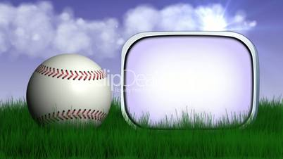 Baseball Ball in Nature 2 - HD1080