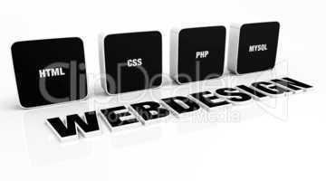 Webdesign Portfolio Konzept Schwarz 03