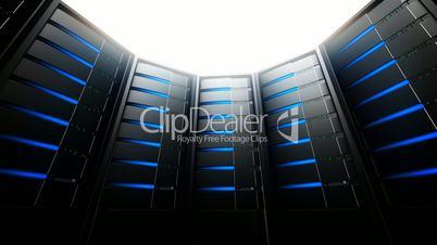 Network Servers in Circle (Loop)