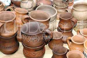 Potter's jugs