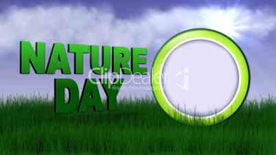 Nature Day Speech Balloon - HD1080
