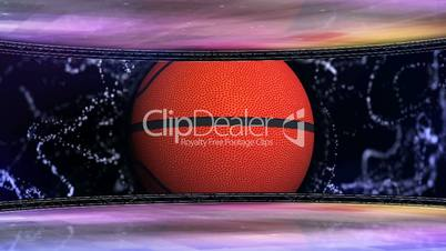 Basket Ball in Room and Monitor 8 - HD1080