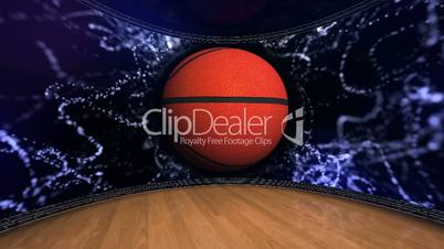 Basket Ball in Room and Monitor 9 - HD1080