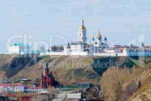 View at Tobolsk kremlin