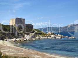 Befestigungsanlage Fortezza Vecchia, Villasimius an der Capo Carbonara, Sardinien