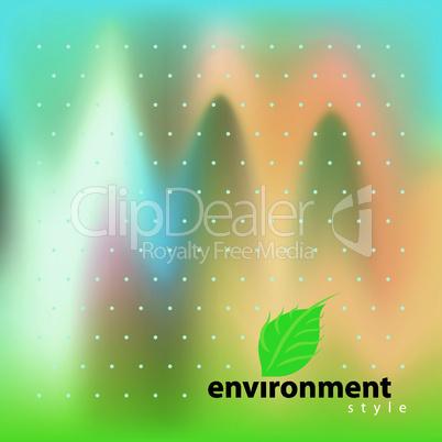 Vector environment bio style
