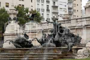 Fountain in Buenos Aires