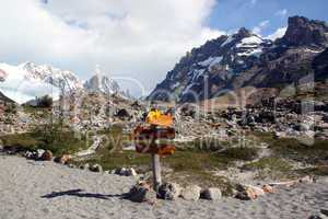 Hiking in El Chalten area