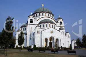 Cathedral in Beograd