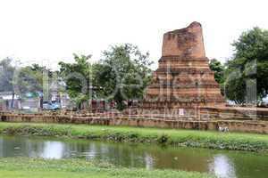 Wat Hasdavas in Ayutthaya