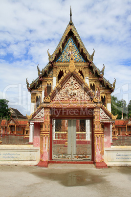Facade of temple