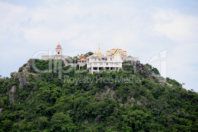 Temple on the rock