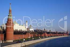 Road and Kremlin