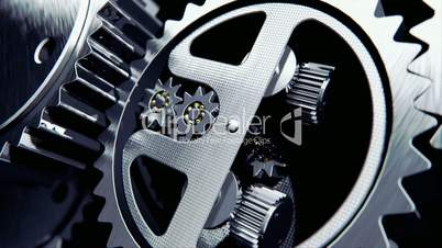 Animation of cogs working together
