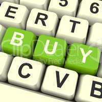 Buy Keys As Symbol for Commerce And Purchasing