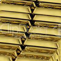 Gold Bars As Symbol For Wealth Or Fortune