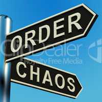 Order Or Chaos Directions On A Signpost