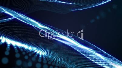 Particle Form Background 5 - HD1080