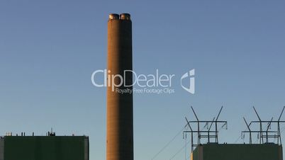Cape cod power plant smoke stack