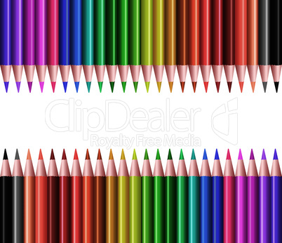 vector sets of colored pencils