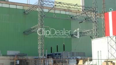 Power plant output transformer grid cape cod canal