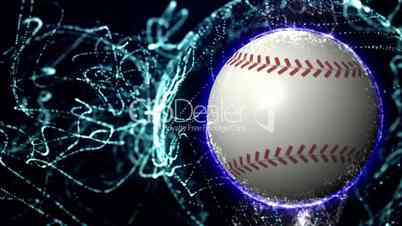Baseball Ball in Particle 5 - HD1080