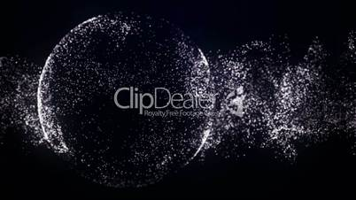 Particle Background 7 - HD1080