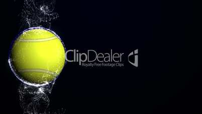 Tennis Ball in Particle 7 - HD1080