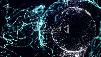 Particle Background 15 - HD1080