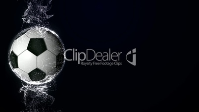 Soccer Ball in Particle 8 - HD1080