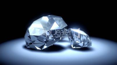 Seamless turning diamonds