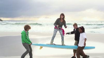 Beach Breaks - Cross-Media