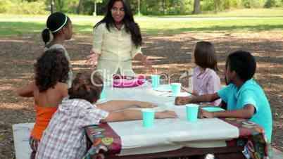 Outdoor Birthday Celebration - Cross-Media