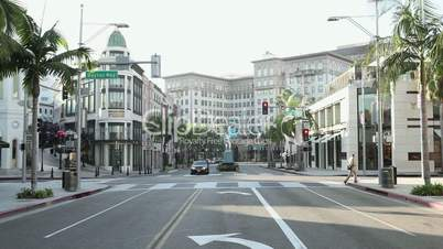 Rodeo Drive, Californien, USA