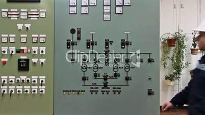 EngineerCheckHighVoltagePanel