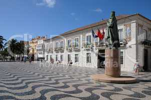 Portugal, and the city hal squarel of Cascais