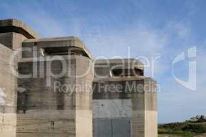 France, Le Grand Blockhaus in Batz sur Mer
