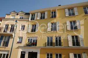 Ile de France, residential block in Vaureal