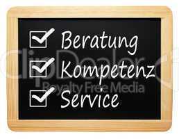 Beratung Kompetenz Service