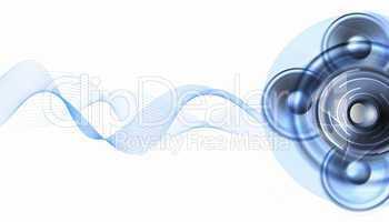 image of speakerphones and sound