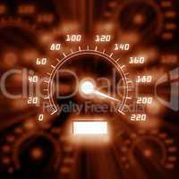 picture of speedometer