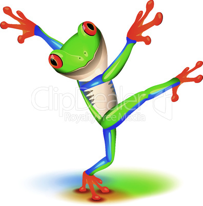 Dancing Tree Frog