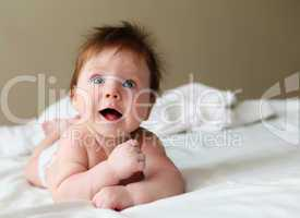 beautuful redhair infant